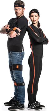 wearing motion capture suit